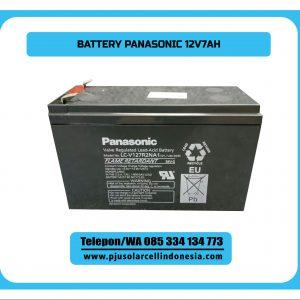 Baterai Kering Panasonic 12V7.2AH