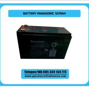 Baterai Kering Panasonic 12V9AH